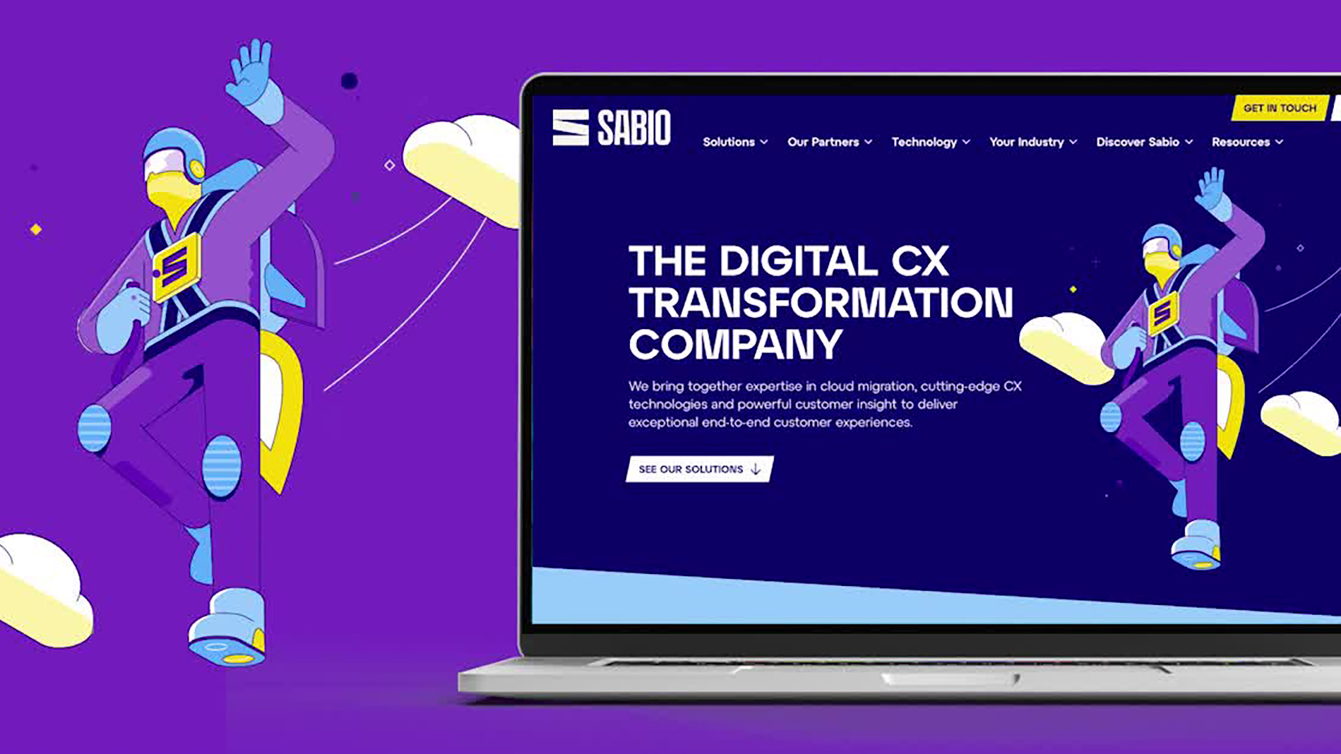 Collective have just launched a new website for Sabio